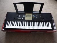 Yamaha YPT220 Digital Electric Keyboard - EXCELLENT CONDITION - Boxed