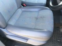 Vw transporter t5 front seats passengers folding and drivers come out of a 2008 van