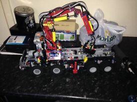 lego technic 42043 mercedes grab wagon