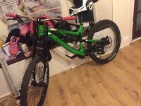 Kona precept 200 down hill mountain bike