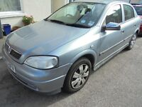 Vauxhall astra 2003 1.6 new m.o.t