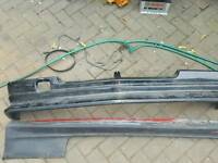 Vauxhall nova zender splitter and side skirts