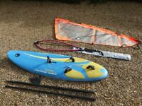 Beginner/intermediate windsurfer 'Bic Techno'