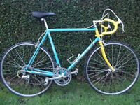 Stunning Vintage Carrera Celeste Racing Bike. Classic Road Racer. Retro Road Race Cycle
