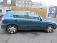 Nissan Almera 2001 - for repair or parts