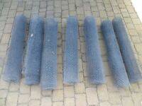 GALVANISED WIRE MESH FOR CAGES (total 30metres x 1.2m)