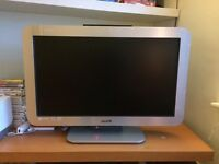 Flat Screen Sanyo TV with recording ability