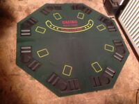 Portable table top poker game
