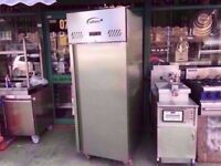 UPRIGHT COLD FRIDGE COMMERCIAL MACHINE CATERING TAKEAWAY RESTAURANT SHOP FASTFOOD PUB KITCHEN BAR
