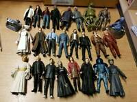 "Dr.Who figures (5"" Various)"