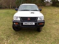 mitsubishi l200 4wd 2.5 diesel 2003 double cab
