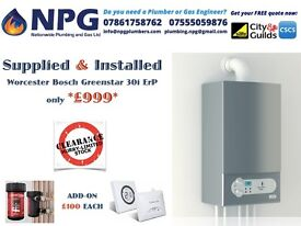 *Worcester Bosch Greenstar 30i ErP Combi Boiler* *£999* *RRP £2K* *CALL NOW*50% off Wholesale prices