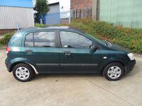 2003 Hyundai Getz. 1.1 Petrol