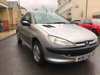 PEUGEOT 206 LX 1.4/ONLY 59K/GREAT CONDITION/£795