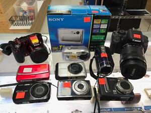 ** SAY CHEESE ** Great Selection of New and Used Cameras