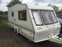 Bassacarr Twin Wheel Touring Caravan, Superb Condition Throughout