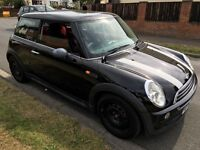 MINI ONE D 1364cc Turbo Diesel 6 speed manual 3 door hatchback 53 Plate 15/09/2003 Black