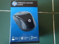 hp wirelessmouse x3000