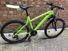Mountain bike, bicycle, btwin bike