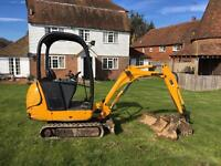 Jcb 8014 mini digger NO VAT