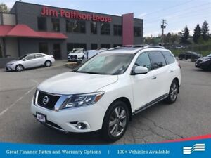 2015 Nissan Pathfinder Platinum 1 owner lease return w/ Navigati