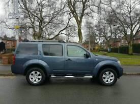 low mileage! 2007 Nissan Pathfinder. 2.5 Diesel. 6 Speed ( 7 Seater ) private sale