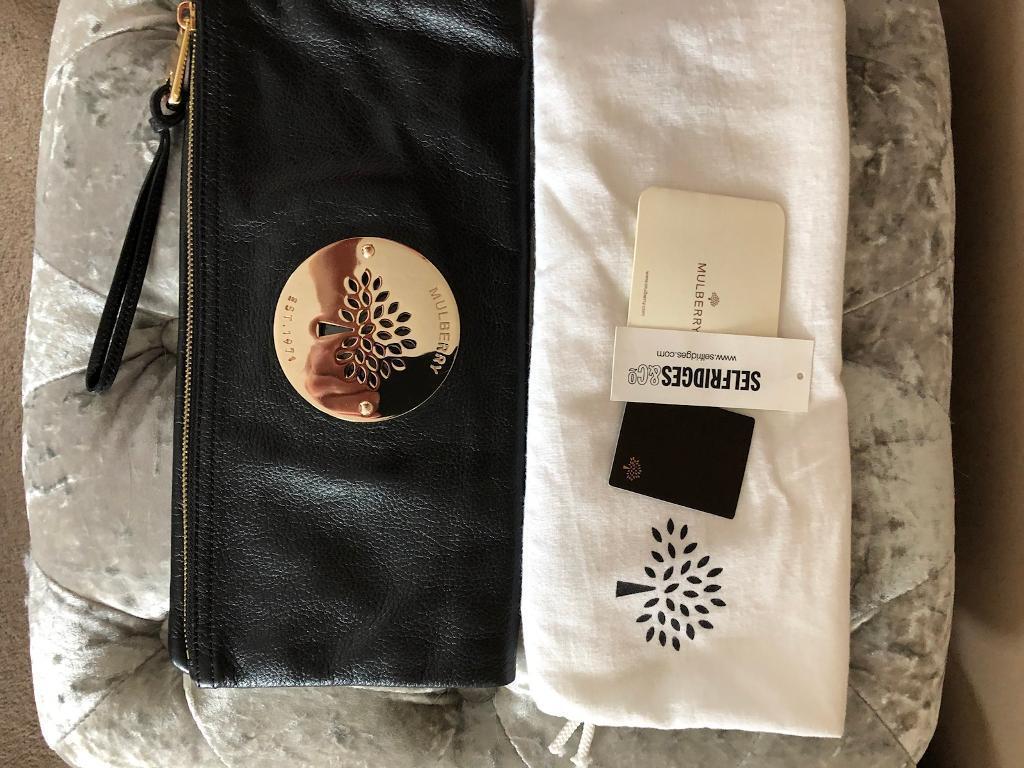 afbe2d7833a ... wholesale genuine mulberry daria leather clutch bag 640e0 51492