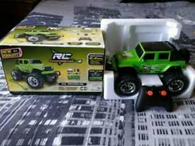 Radio controlled jeep