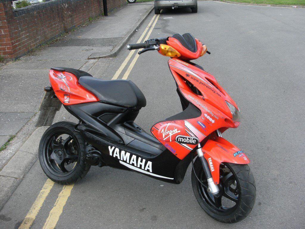 yamaha aerox 50cc scooter moped lovely bike very nippy mot till mid jan 2018 rides spot on. Black Bedroom Furniture Sets. Home Design Ideas