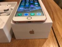 iPhone 6s Plus rose gold 128 gb unlocked -still under warranty-mint condition