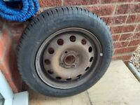 Spare Wheel & Tyre