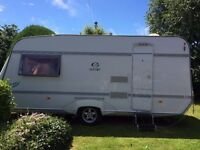 Caravan Geist LV 485(2004) 2-berth model with many extras included in price.