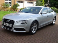 2014 AUDI A5 2.0 SPORTBACK TDI SE TECHNIK S/S 5d AUTO 148 BHP NAVIGATION SYSTEM, LEATHER TRIM