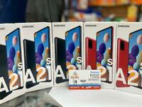 Samsung Galaxy A20s A21s Unlocked brand new box warranty open on all sim
