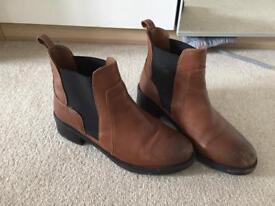 Tan boots river island