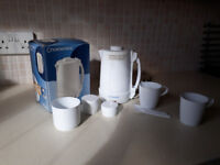 Ideal for students - mini refridgerator and travel kettle for sale