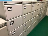 Grey Silverline Filing Cabinets