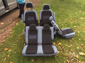2014 Citroen berlingo multi-space seats 2 front & 3 back seats brand new light use from 2008 onward