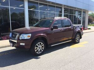 2007 Ford Explorer Sport Trac Limited 4.0L Crew Cab Leather