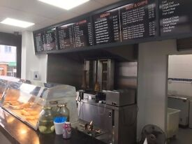 CHIP SHOP FOR SALE (LEASEHOLD) PENNFIELDS WOLVERHAMPTON