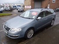 Volkswagen PASSAT Highline TDI,stunning looking Estate,6 speed,FSH,full heated leather interior,