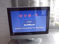 15 inch tv with dvd slot