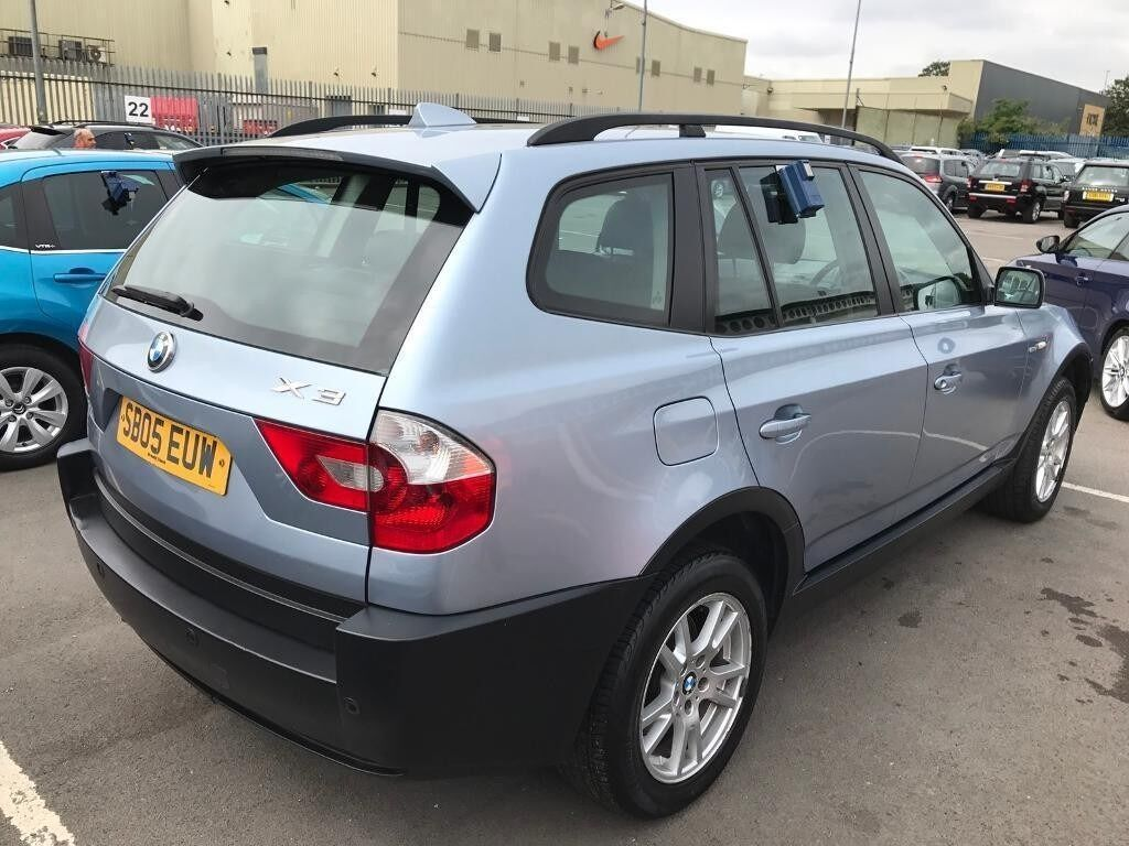 bmw x3 2005 diesel x5 heated leather seats parking sensors 12 month mot 2 keys. Black Bedroom Furniture Sets. Home Design Ideas