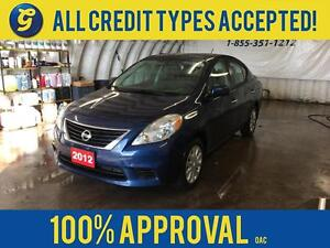 2012 Nissan Versa SV*BLUETOOTH PHONE*KEYLESS ENTRY*CD/MP3 W/AUX