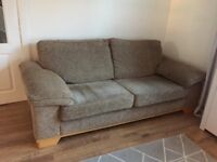 Two large sofas for sale.Very good condition. Will accept nearest offer