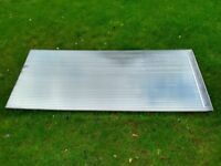 Polycarbonate sheeting for garden