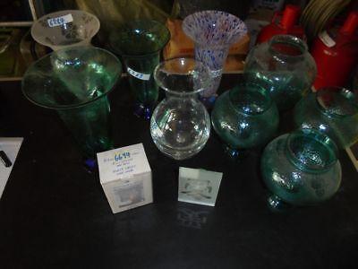 Nr. 9 Vasen Tischvasen Blumenvasen Windlichter Wiederverkäufer Trödel