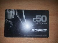 My Protein £50 Gift Card