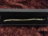Authentic Swarovski Tennis Bracelet in silver