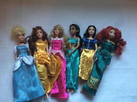 Disney Princess Barbies